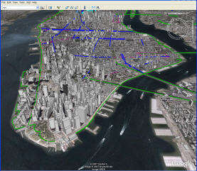 Google Earth New York City Bike